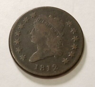 1812 Classic Head Large Cent #14