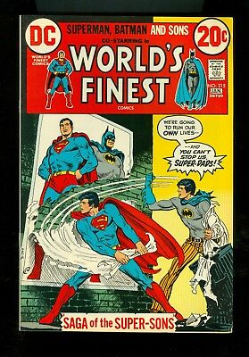 WORLD'S FINEST #215 -- January 1973 -- VF Or Better
