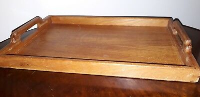Vintage Wooden Tray Vintage Butler's Tray 1930s / 1940s