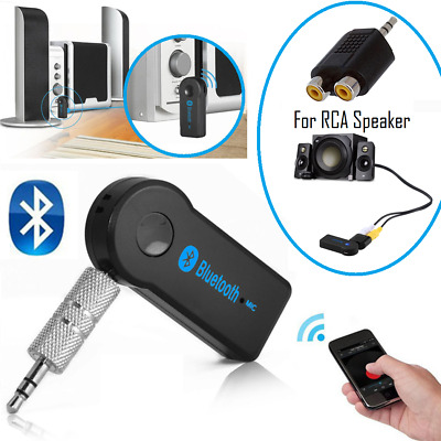 Wireless Bluetooth Receiver Transmitter 3.5mm for Home Stereo Speaker System