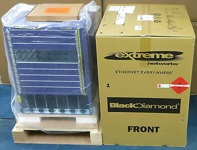 New Extreme Networks Black Diamond 8810 10Slot Switch Chassis 41011 800392-00-04