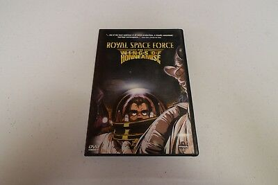 Royal Space Force - The Wings of Honneamise (DVD, 2000) w/ Insert!