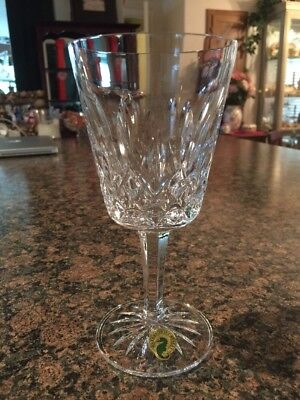 Waterford Lismore Goblet, New! Water Or Wine Glass.