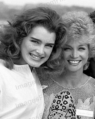 8x10 Print Brooke Shields Candid 1984 #BSCN