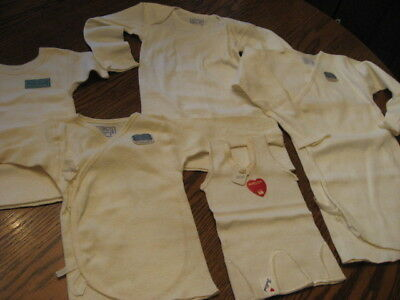 Lot of NOS Vintage baby under cloths , lot of  5 pcs , clean