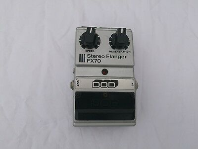 Dod Fx70 Stereo Flanger - Free Next Day Delivery In The Uk