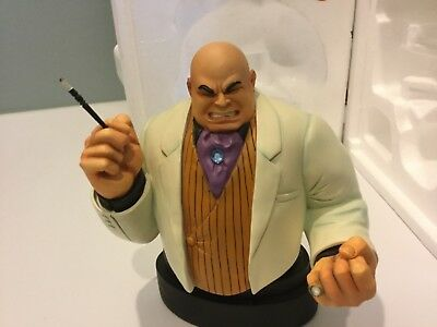 Marvel Bowen Kingpin Bust complete w box number 1581