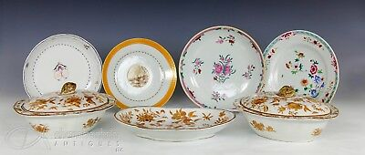 Large Lot Of Antique Chinese 18Th And 19Th Century Export Porcelain