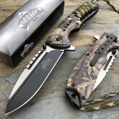 MASTER USA  Outdoor Hunting Tactical Rescue Pocket Folding Knife MU-A038MJ