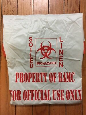 Biohazard Soiled Linen Bag