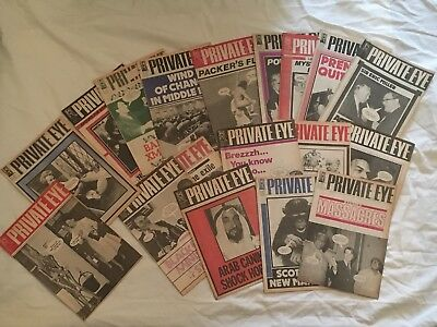18 X Private Eye Publication Sept 77 - June 78