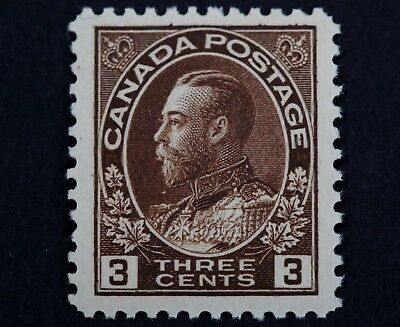 Canadian Stamp, Scott #108 XF MNH 3 Cent Jumbo Margins 1911-1925 Admiral Issue