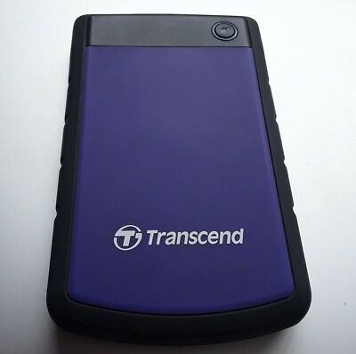 Transcend 1TB External Portable Hard Drive With Case