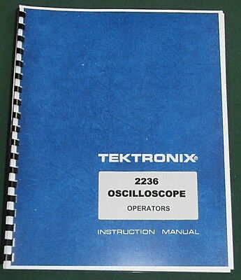 Tektronix 2236 Instruction Manual: Comb Bound & Protective Plastic Covers