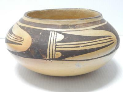 Antique Vintage Hopi Indian Bowl - Classic Nampeyo Dsgn Early Example - Nr !