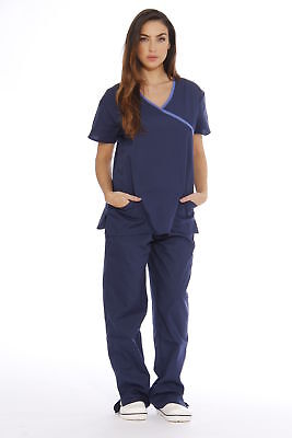 Just Love Women's Scrub Sets / Medical Scrubs (Mock Wrap)