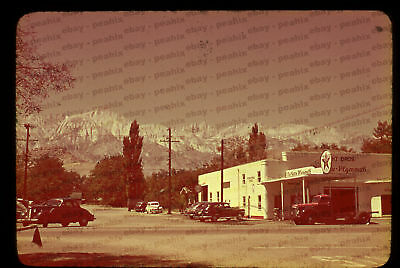 (401) ca 1940s 35mm Slide Photo - LONE PINE, CA - MT. WHITNEY