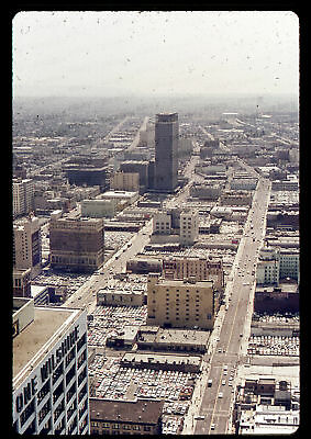 (194) 1969 35mm Slide Photo - LOS ANGELES - View