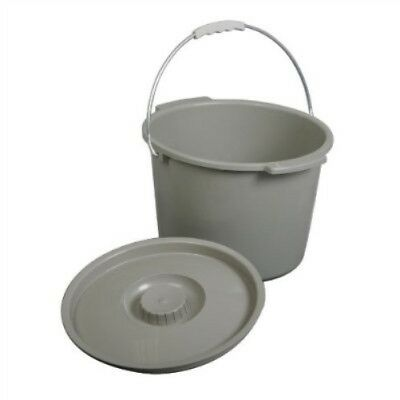 Potty with Lid and Handle for use with Commode Chairs (Potty Only)