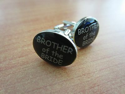 Brother of the Bride Wedding Cufflinks Gift