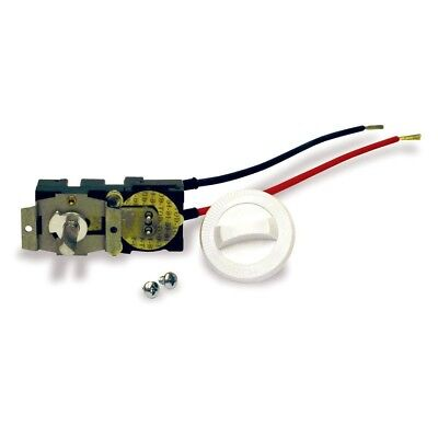 Cadet Compak Thermostat Kit CTT1W Single Pole 22 Amp Wall Heater Part White