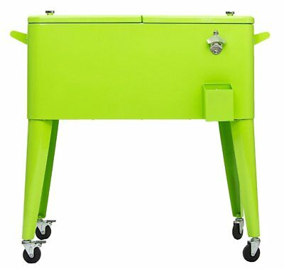 Permasteel PS-203-LIME Patio Cooler, 80-Quart, Lime