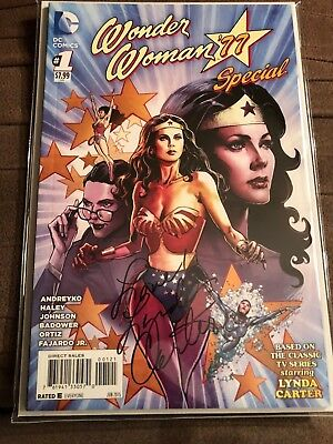Wonder Woman '77 Special #1 Signed by Lynda Carter with COA