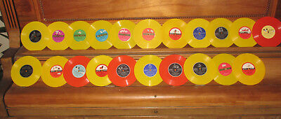 Vintage Lot of 21 Golden Disney Kids Records Mickey Mouse Dumbo Three Little Pig