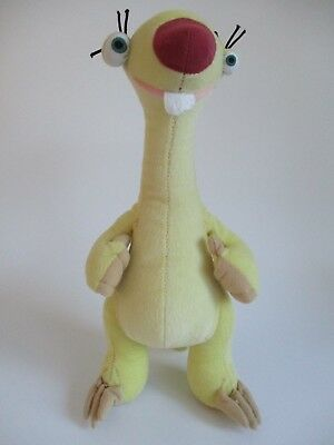 """Ice Age 4 Sid the Sloth 12"""" soft toy by Play by Play"""