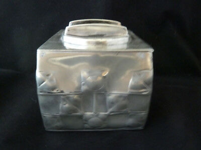 Archibald Knox Tudric Pewter Tea Caddy / Biscuit Box for Liberty - Shape 0194