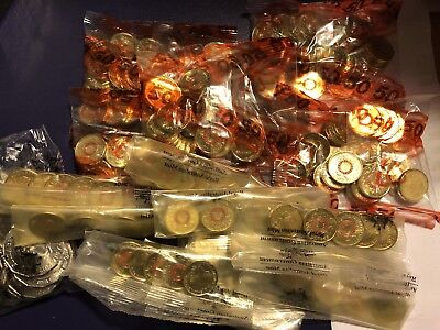 Bag of 2015 Remembrance UNC Red Ring $2 Two Dollar 25 Coins