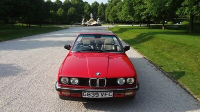 BMW E30 325i Convertible Great condition! 2 owners in last 16 years