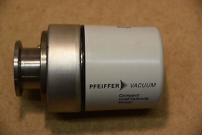 Pfeiffer D-35614 Assler compact cold cathode magnetron high vacuum gauge IKR 251