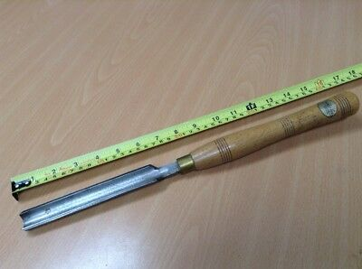 "Ashley Iles Sheffield 1"" Spindle Roughing Gouge woodturning wood lathe"