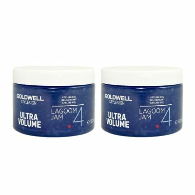 2 x 150 ml Goldwell Lagoom Jam Volumen Styling Haargel Set