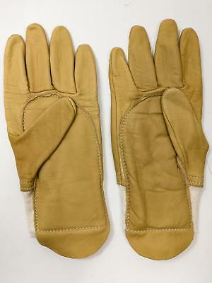 Leather work gardening manual hadling general purpose gloves SMALL
