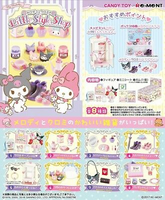 Rement  My Melody and Kuromi Little Style Shop Figure Complete Box SANRIO