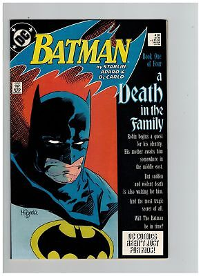 Batman (1940) # 426-429 SET (6.5/9.0-FN+/VFNM) A DEATH IN THE FAMILY (265744)