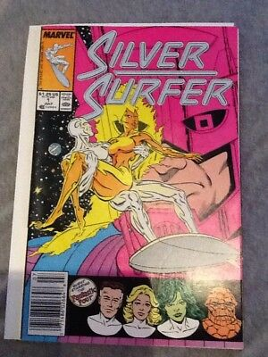 1987 Marvel Silver Surfer Vol 3 #1 Guest Starring The Fantastic Four