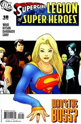 Supergirl and the Legion of Super-Heroes (2006) #  18 (8.0-VF)