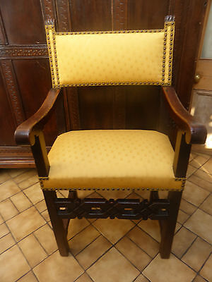Superb Walnut Spanish Open Armchair 1760  Free Shipping To England