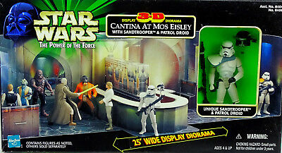 Mos Eisley Cantina 3D Diorama Mit Sandtrooper Star Wars Power Of The Force