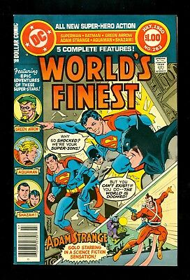 WORLD'S FINEST #263 -- July 1980 -- Newsstand Variant -- NM- Or Better