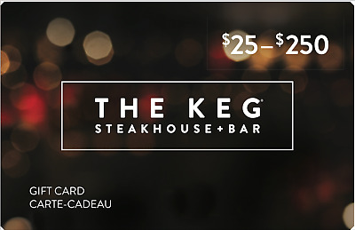 The Keg Steakhouse & Bar Gift Card - $200 Mail Delivery