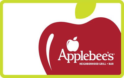 Applebee's Gift Card- $25 Mail Delivery