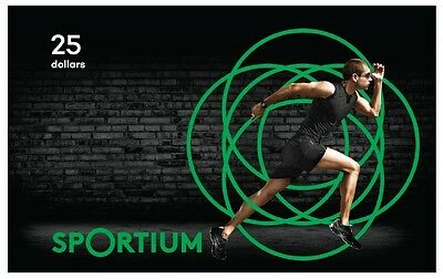 Sportium Gift Card - $25 Mail Delivery