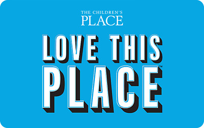 The Children's Place Gift Card - $25 Mail Delivery