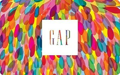 GAP Gift Card- $50 Mail Delivery