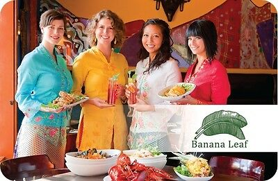 Banana Leaf Gift Card - $25 Mail Delivery