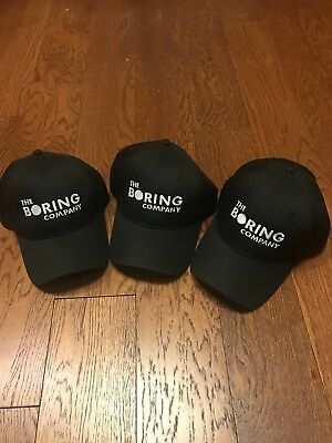 The Boring Company Hat Elon Mask Tesla Baseball Hats Embroidered Hat